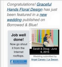 Featured in Borrowed & Blue!